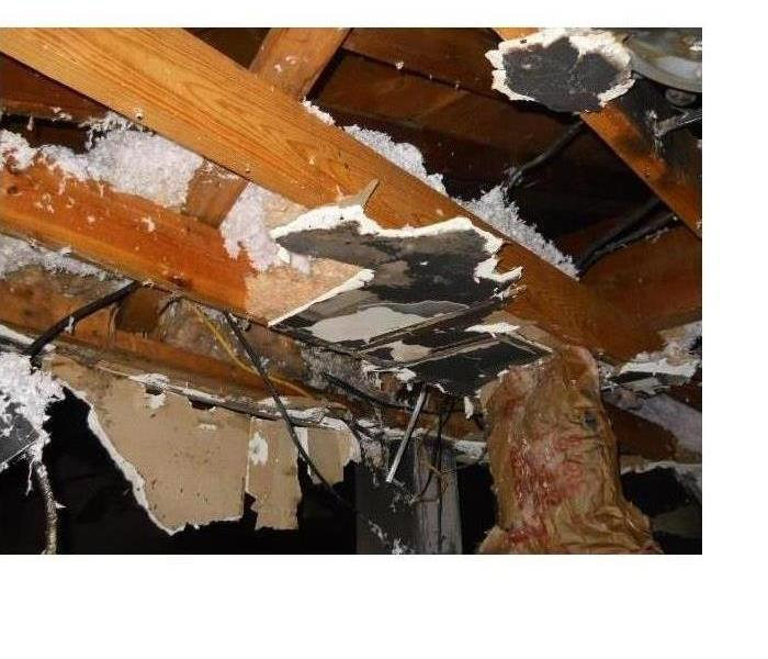 Fire Damage – Atlanta Garage Before