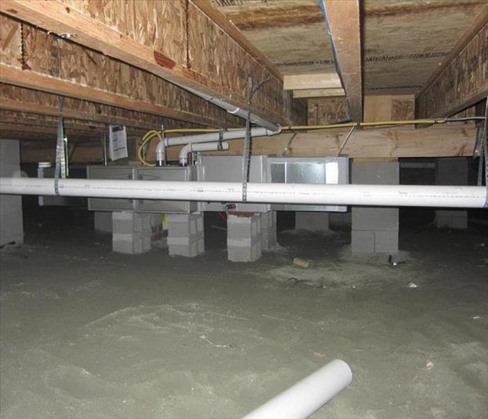Water Damage I Might Have Standing Water In My Crawl Space. What do I Do?
